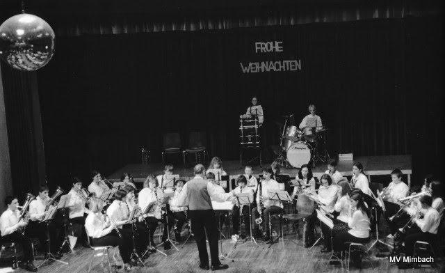 Jugendorchester, Weihnachten 1998Ltg. K.H. Linn