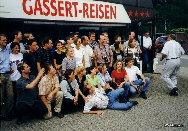 Vereinsfahrt nach Belgien, 1999